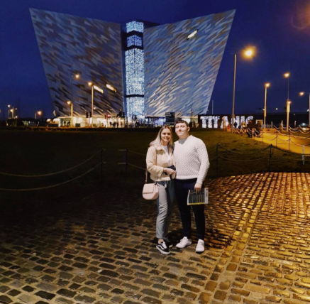 Outside the Titanic Experience